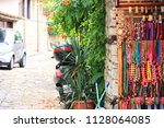 beads. colored multicolored...   Shutterstock . vector #1128064085