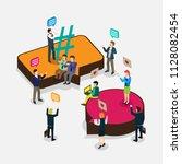 business technology internet... | Shutterstock .eps vector #1128082454
