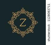z letter luxury logo template...   Shutterstock .eps vector #1128083711