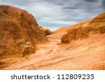 Dramatic Landscape Of The Clay...