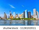 view from the water  from... | Shutterstock . vector #1128102011