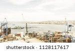 valparaiso  chile  january 2 ... | Shutterstock . vector #1128117617