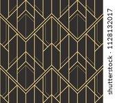 vector modern geometric tiles... | Shutterstock .eps vector #1128132017