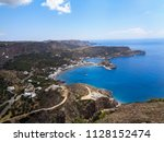 nice view to a bay with blue... | Shutterstock . vector #1128152474