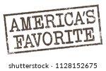 america's favorite. vector...   Shutterstock .eps vector #1128152675