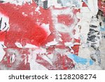 Red Abstract Grunge Background...