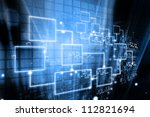 global business network | Shutterstock . vector #112821694