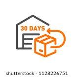 flat line design concept icon...   Shutterstock .eps vector #1128226751