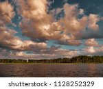a sweeping view of a dramatic... | Shutterstock . vector #1128252329