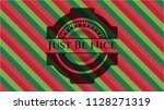 just be nice christmas colors... | Shutterstock .eps vector #1128271319