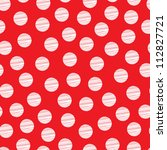 Red Seamless Pattern  Polka Do...