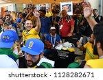 moscow  russia   june 26  2018  ... | Shutterstock . vector #1128282671