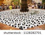 moscow  russia   june 26  2018  ... | Shutterstock . vector #1128282701