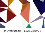 dark multicolor vector polygon... | Shutterstock .eps vector #1128285977