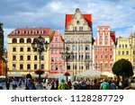 wroclaw poland   2 july 2018 ... | Shutterstock . vector #1128287729