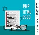 program coding website | Shutterstock .eps vector #1128322079