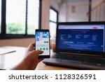 chiang mai  thailand   june 03... | Shutterstock . vector #1128326591