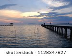 Small photo of Sunset in Port Dickson, Malaysia
