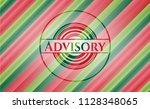 advisory christmas colors style ... | Shutterstock .eps vector #1128348065