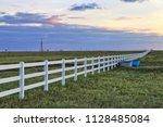 rural texas oil and gas... | Shutterstock . vector #1128485084
