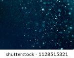 texture of water with bubbles.... | Shutterstock . vector #1128515321