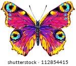 butterfly | Shutterstock .eps vector #112854415