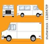 food truck blank | Shutterstock . vector #112854709