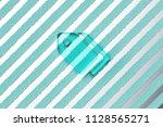 aqua color tags icon on the...