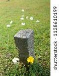 the japanese cemetery park in... | Shutterstock . vector #1128610199