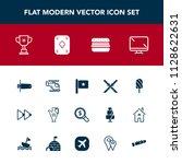modern  simple vector icon set... | Shutterstock .eps vector #1128622631
