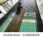 sep 27 2016  kobe japan  baby... | Shutterstock . vector #1128628244