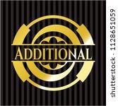 additional gold emblem | Shutterstock .eps vector #1128651059
