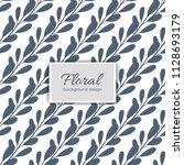 flower illustration pattern....   Shutterstock .eps vector #1128693179