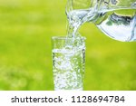 image of water | Shutterstock . vector #1128694784