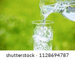 image of water | Shutterstock . vector #1128694787