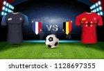football cup 2018 world... | Shutterstock .eps vector #1128697355
