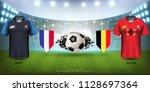 football cup 2018 world... | Shutterstock .eps vector #1128697364