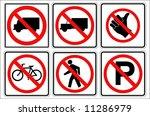 trafic   Shutterstock .eps vector #11286979