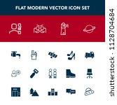 modern  simple vector icon set... | Shutterstock .eps vector #1128704684