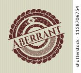 red aberrant distressed rubber...   Shutterstock .eps vector #1128706754
