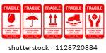 Packaging Label   Fragile  Jus...