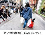 new york city  usa   april 6 ...   Shutterstock . vector #1128727934
