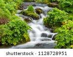Closeup Of Small Waterfall...