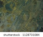 abstract painting on canvas.... | Shutterstock . vector #1128731084
