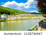 scenic montherm  in french... | Shutterstock . vector #1128736967