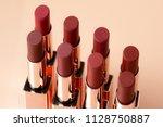 beautiful luxury modern high... | Shutterstock . vector #1128750887