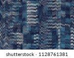 seamless pattern tartan design. ... | Shutterstock . vector #1128761381