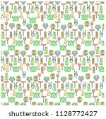 wine coloring seamless pattern. ... | Shutterstock .eps vector #1128772427
