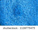 blue rock for decoration blue... | Shutterstock . vector #1128775475