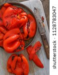 Red Bell Pepper Char Grilled